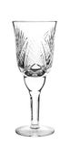 Empty crystal glass Royalty Free Stock Photography