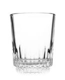 Empty crystal wineglass Royalty Free Stock Photos