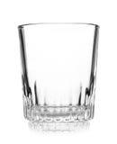 Empty crystal wineglass Royalty Free Stock Photos