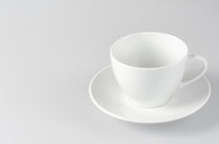 Empty cup Stock Images