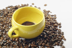 Empty Cup of Coffee Royalty Free Stock Photos