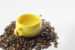 Empty Cup of Coffee Stock Images