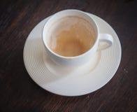 Empty cup Stock Photo