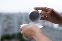 Free Empty Cup Of Coffee. Stock Photos - 123113253