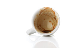 Free Empty Cup Of Espresso Stock Images - 24808664