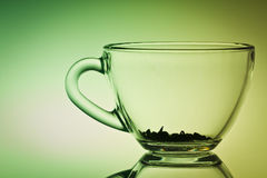 Empty cup of tea Royalty Free Stock Photography