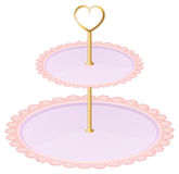An empty cupcake tray Royalty Free Stock Photography