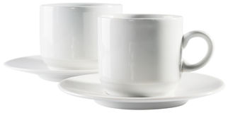 Empty cups Stock Image