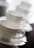 Empty cups Royalty Free Stock Photos