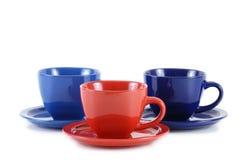 Empty cups Stock Image