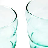 Empty cups Stock Images