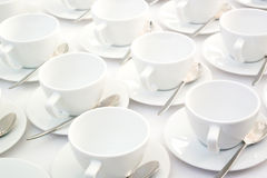 Empty cups Stock Photography