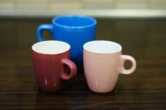Empty cups Stock Photo