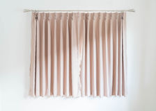 empty curtain interior decoration in living room Royalty Free Stock Images