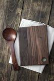 Empty cutting board Stock Photo