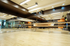 Empty dance hall. Interior of an empty dance hall Stock Image