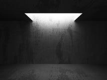 Empty dark abstract concrete room interior. Architecture urban b. Ackground. 3d render illustration vector illustration