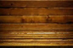 Dark wooden room background Royalty Free Stock Photos