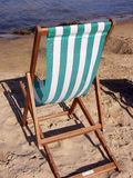 Empty Deckchair Stock Image