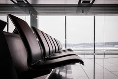 Empty departure hall Royalty Free Stock Photos