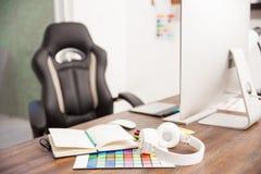 Empty designer's office Stock Images