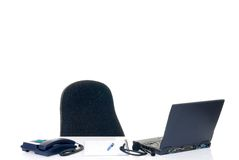 Empty desk Royalty Free Stock Photography