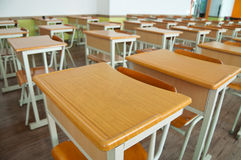 Empty Desks Stock Image