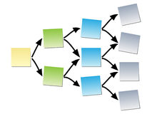 Empty diagram. Design vector illustration Royalty Free Stock Photo