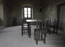 Empty dining room Stock Photos