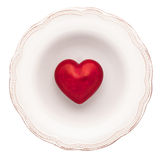 Empty dinner plate Stock Photography