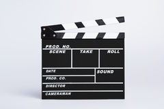 Empty directors board or clapboard royalty free stock images