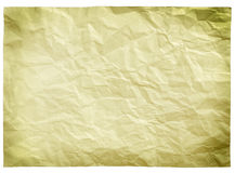 Empty dirty paper sheet Stock Photography