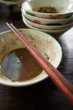Empty dish Stock Image