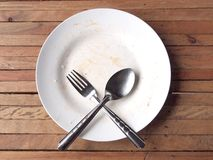 Empty dish Stock Images