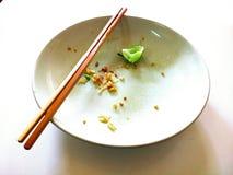 Empty dish. Royalty Free Stock Photo