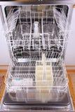 Empty dishwasher Stock Photography