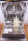 Empty dishwasher Stock Photo