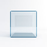 Empty display case Stock Image