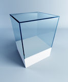 Empty display case Royalty Free Stock Photography