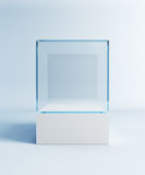 Empty display case Royalty Free Stock Images