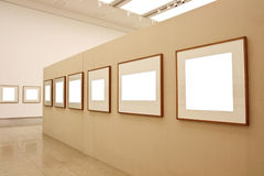 Empty display frames Royalty Free Stock Photo