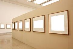 Empty display frames Royalty Free Stock Photo