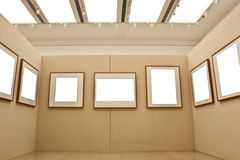 Empty display frames Royalty Free Stock Images