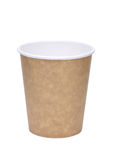 Empty disposable cup Stock Image