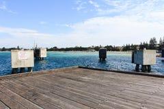 Empty dock Stock Photo