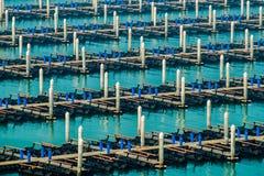Empty dock Royalty Free Stock Photography