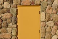 Empty door Royalty Free Stock Photo