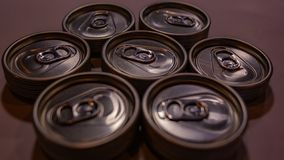 Empty Drinks Can royalty free stock photo