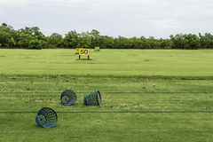 Empty Driving Range Stock Images