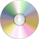 Empty dvd Royalty Free Stock Photo